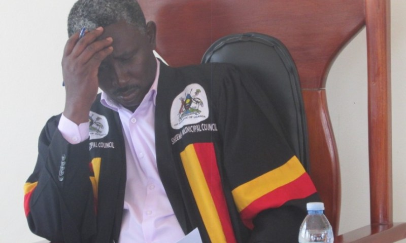 Drama As Councillors Eject Speaker From Meeting Over Corruption, Lock Him Inside Church
