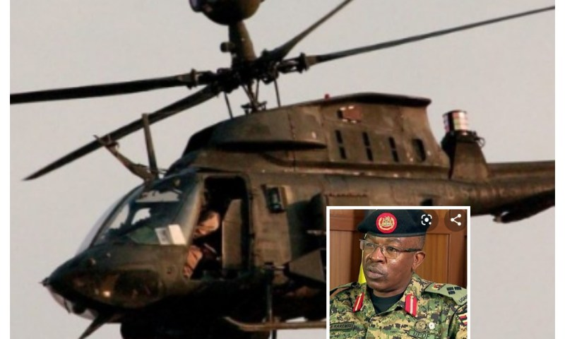 Army Officers Perish After UPDF Chopper Crashes In Gomba