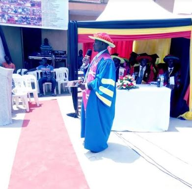 Pomp & Glamour As 263  Scoop Diplomas, Certificates At Mengo Technical Business Institute