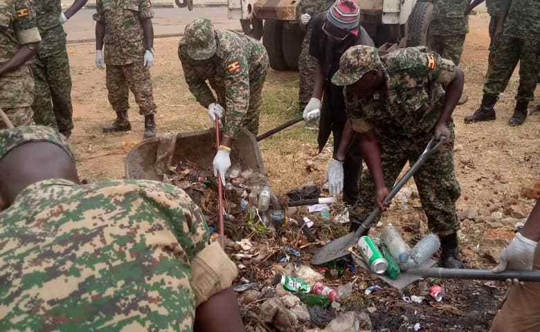 UPDF Storms Arua City, Offers Humanitarian Activities Ahead of Tarehe Sita Celebrations