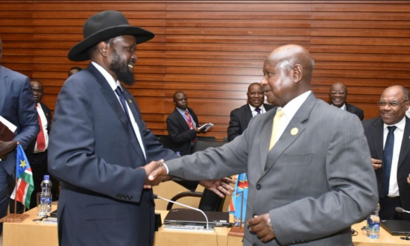 Kiir-Museveni Agree On Rejection Of 23 South Sudan States