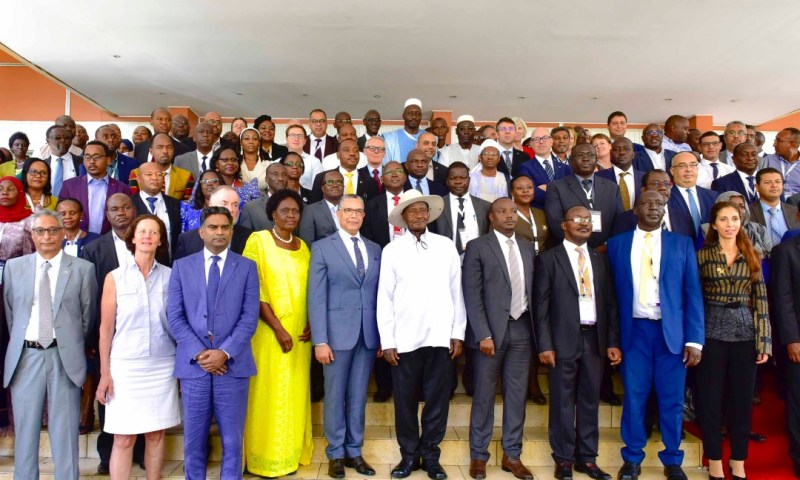 Museveni Urges Africans To Preserve Water At All Costs, Hails NWSC MD Dr Mugisha At AFWA 2020 Conference
