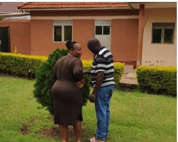 Mama Fina and new lover Swaleh Kimera