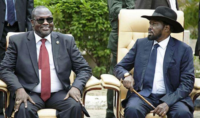 Salva Kiir Appoints Machar  Vice President, Shuffles Cabinet
