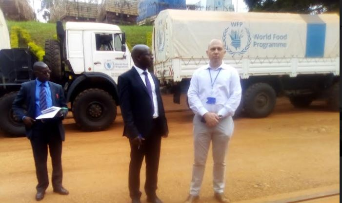 Russia Donates Trucks  To Uganda To Help In Fight Against Locusts