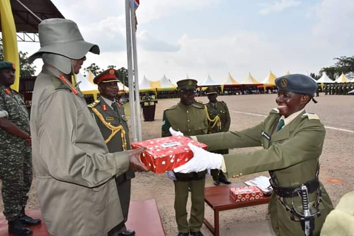 President Museveni Commissions Young Officer UPDF Cadets