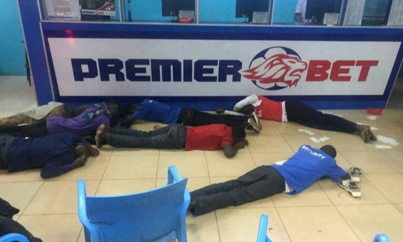 Armed Robbers  Steal Millions From Premier Sports  Betting Company