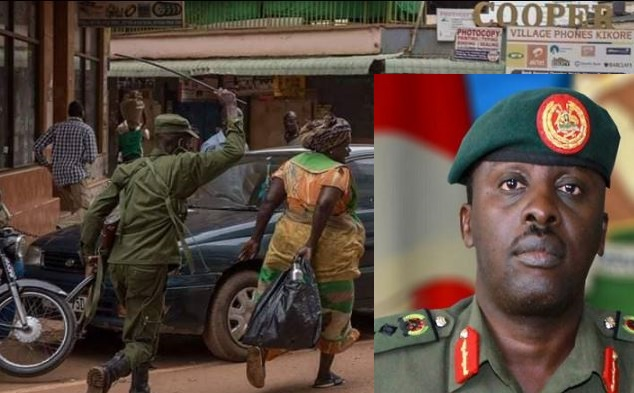 CDF Gen. Muhoozi Apologizes For Army Brutality During COVID-19 Lockdown