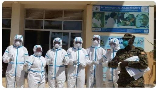 Gen. Muhoozi Hails UPDF Doctors In Fight Against Coronavirus Outbreak