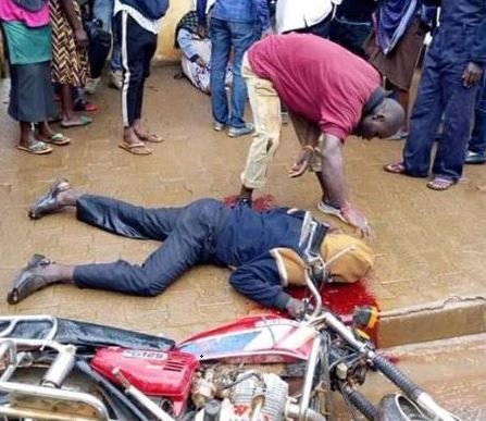 Breaking: Shock As LDU Operative Shoots Boda-Boda Cyclist, Pregnant  Woman To Enforce Museveni's Curfew