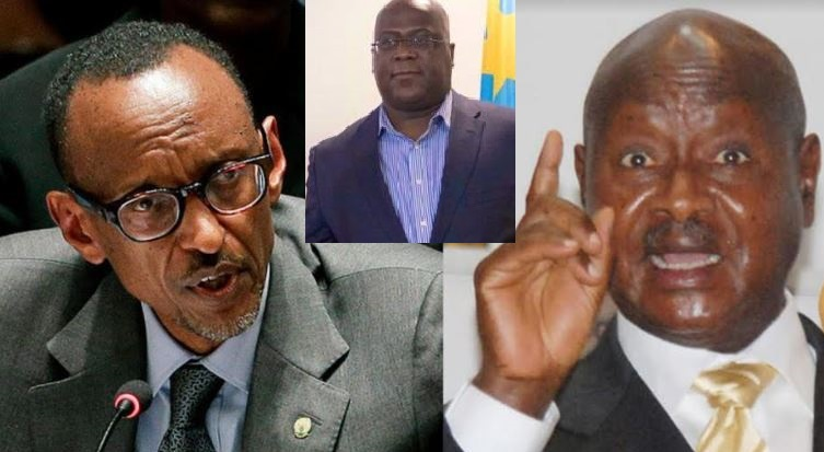 Presidents Kagame, Tshisekedi Isolate Museveni As They End Border Restrictions Over COVID-19