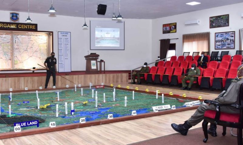 President Museveni Commissions War Game Center At Kimaka, Hails Indians For Funding Project