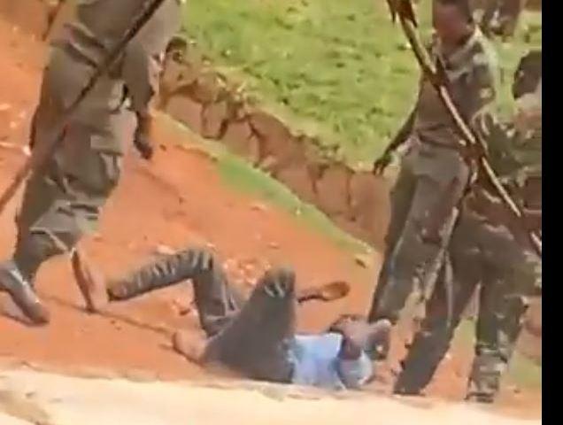3 UPDF Officers Arrested After Being Filmed Torturing Civilian