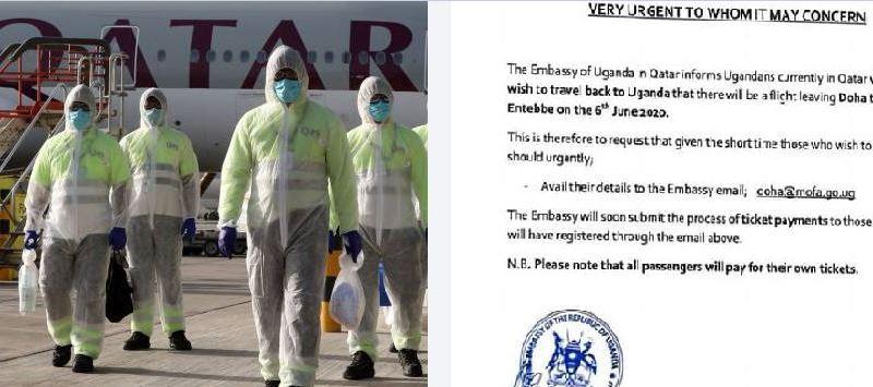 Gov't To Evacuate Ugandans Stranded In Qatar Due To COVID-19 Lockdown