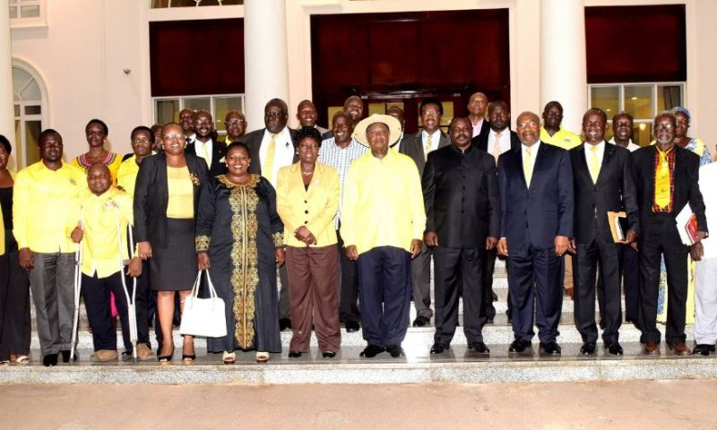 Museveni Shakes Up NRM CEC,  Appoints New Cadres