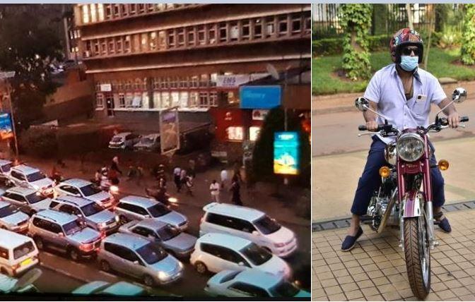 Tycoon Rajiv Ruparelia Beats Sickening COVID-19 Jam By Riding To Court