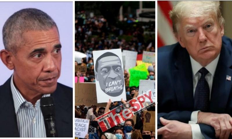 """Protesters Deserve Respect, Support""-Barack Obama Tells Trump"