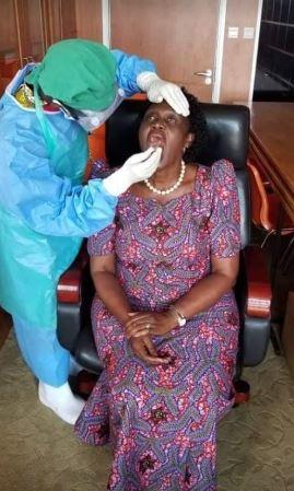 Minister Anwyar Undergoes Mandatory COVID-19 Testing As Gov't Starts Distributing Face Masks