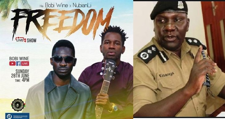 Police Vows To Arrest Ugandans Holding Parties In Their Homes As Bobi Wine Announces Another Concert