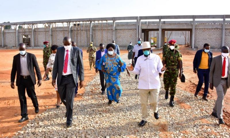 Museveni Launches Factory That Makes Malaria Drugs, New Company Donates Double Cabin Pickup Truck To COVID-19 Task Force