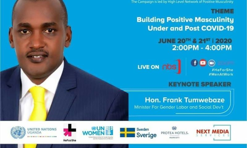 Minister Tumwebaze To Address Men On Fulfilling Their Responsibilities During And After COVID-19 Lockdown