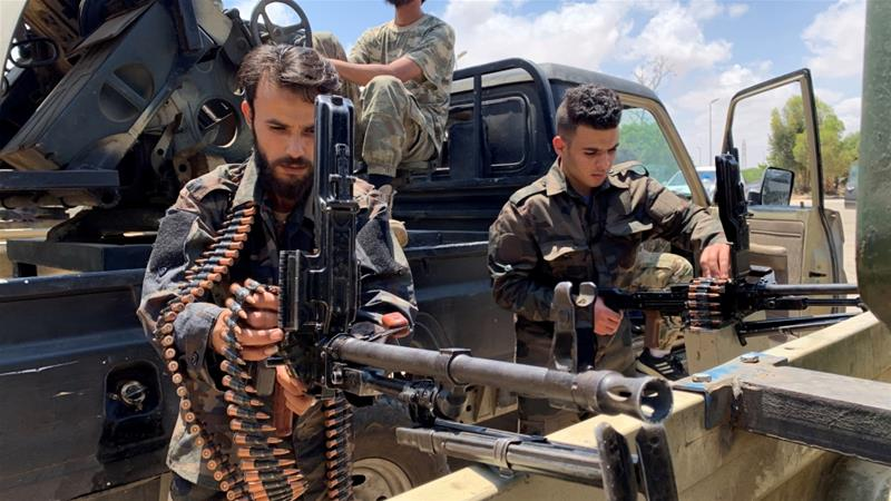 Haftar Forces In Fierce Clash With GNA Fighters Battling For Sirte Airbase, EU Threaten Sanctions