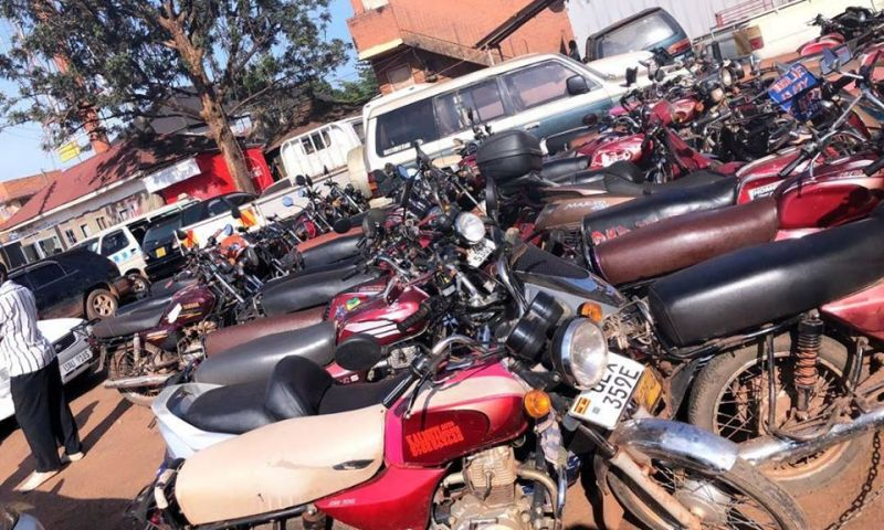 Over 200 Motorcycles Impounded For Flouting Presidential Directives On COVID-19
