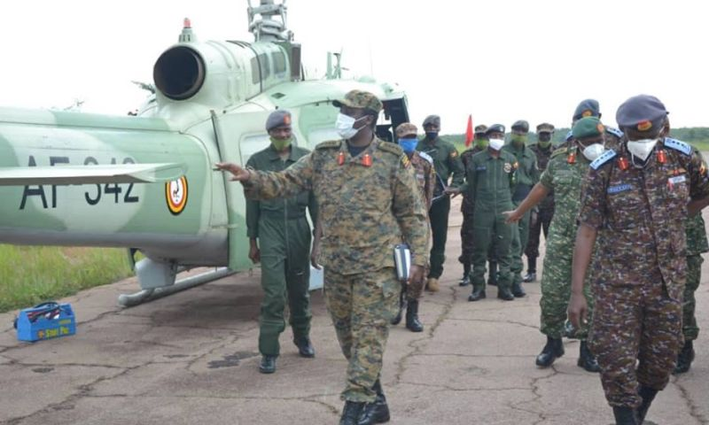 CDF Flags Off Another UPDF Aviation Unit To Battle Al-Shabaab In Somalia
