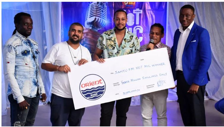 Singer Kavuma Scoops Sanyu FM Job After Beating 1,300 Hot Mic Search  Competitors