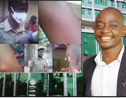 Police Assaults Journalists As Traders Storm Tycoon Ham Over Reopening Of Arcade
