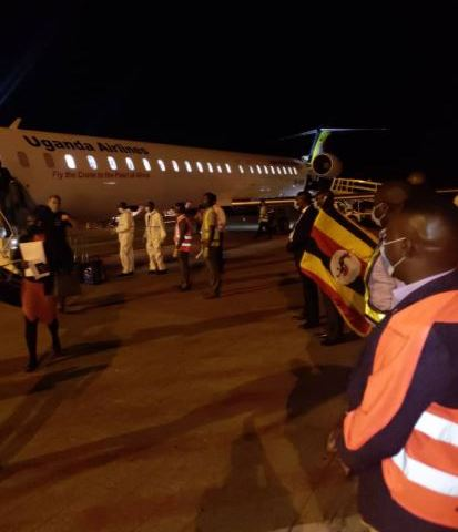 More Ugandans Who Were Stranded In S.Africa Due To COVID-19 Lockdown Return Home