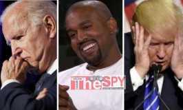 Trump,Biden Cry Foul As Popular Rapper Kanye West Announces Presidential Bid