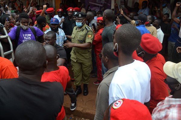 Bobi Wine Flees Arrest As Police Battles Supporters In Jinja