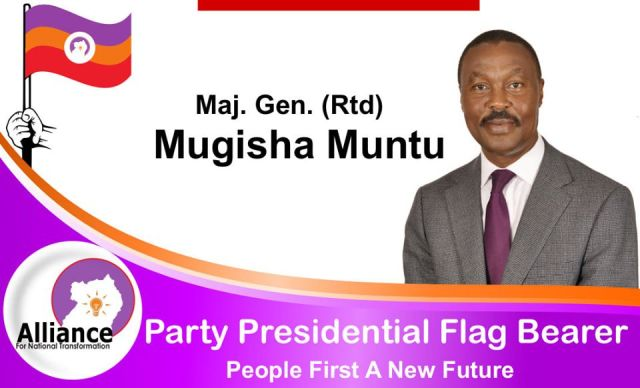 ANT Fronts Gen.Muntu As Presidential Flag Bearer