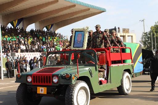Thousands Of Mourners Bid Farewell To Tanzania Ex-President Mkapa
