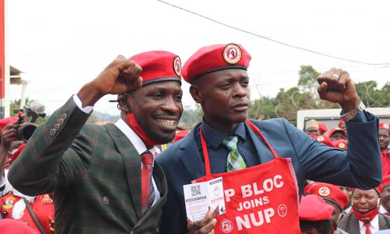 'You Have Given Me Enough Courage' Jose Chameleon Confesses 'Endless' Support For Bobi Wine As He Launches NUP Campaign Offices