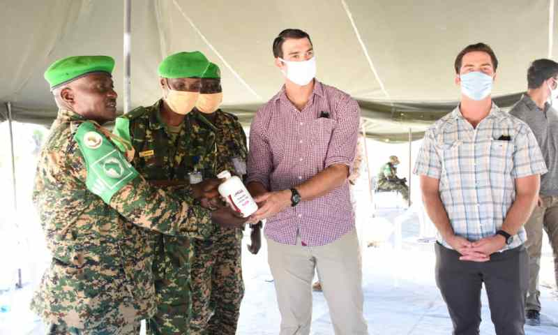 Somalia:US Organisation Donates Multimillion Medical Items To AMISOM