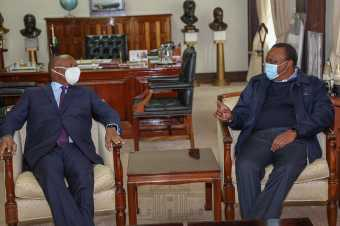 Exclusive:Kabaka Mutebi Holds Secret Meeting With President Uhuru Kenyatta