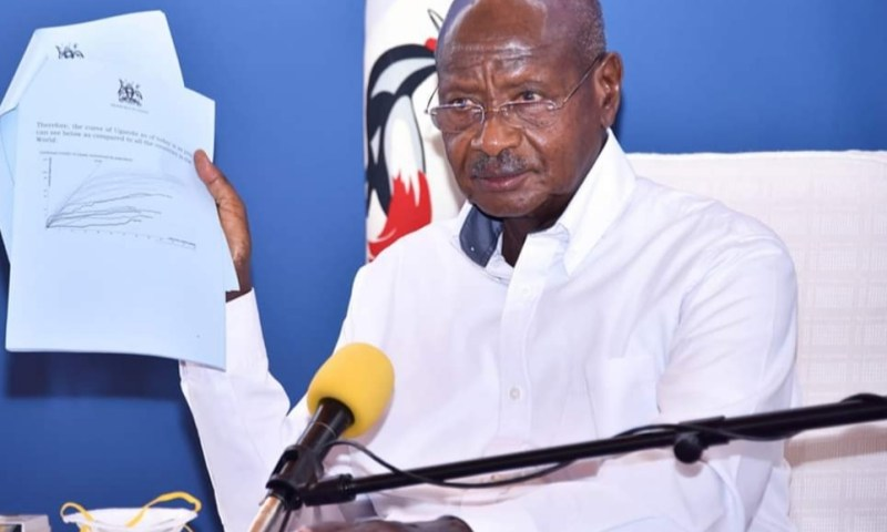 Full Speech:Museveni Says Uganda Is Advancing Towards Middle Income Status