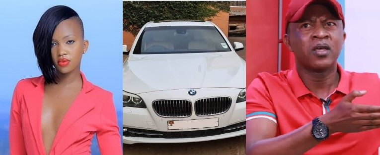 Activist Gashumba Gifts Daughter Sheilah With Sleek BMW Ride