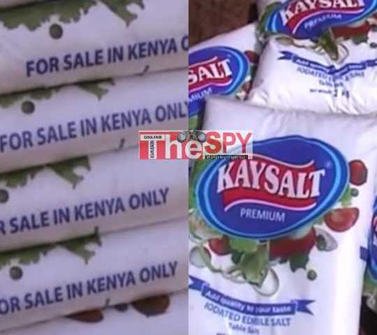 URA, UNBS OnSpot For Smuggling Kenyan Salt Into Uganda, Traders Counting Billions In Losses