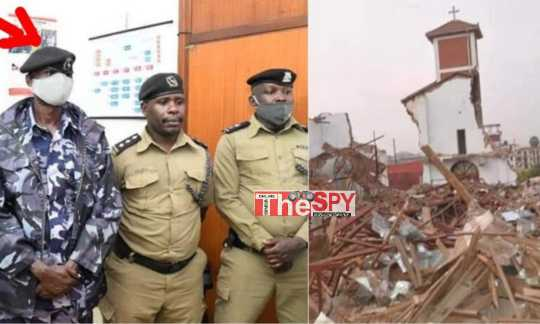 Breaking: Police Boss Arrested In Connection With Ndeeba Church Demolition Escapes From  Custody, Court Issues Warranty Of Arrest Against Him!