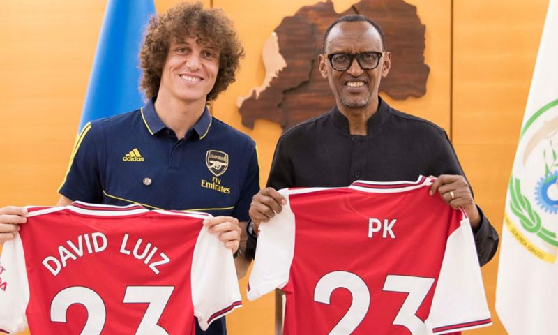 President Paul Kagame On Cloud 9 Over Arsenal's Community Shield Win