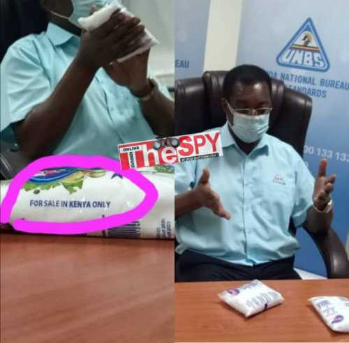 Kaysalt Isn't Supposed To Be On Ugandan Market Even By Yesterday, They're Abusing Our Brotherly EAC Inter-Trade Protocols-UNBS Boss Manyindo Warns Salt Smugglers Of Dire Consequences