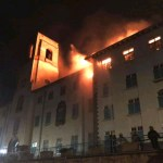 Breaking! Makerere University Burns To Ashes!