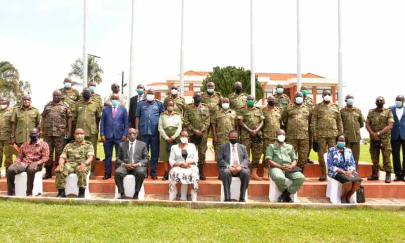 Newly Appointed Defence Attaches Inducted On Diplomatic Relations