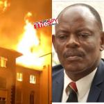 'Support Our Fundraising Drive To Rebuild Iconic Ivory Tower'- Prof. Nawangwe Cries Out