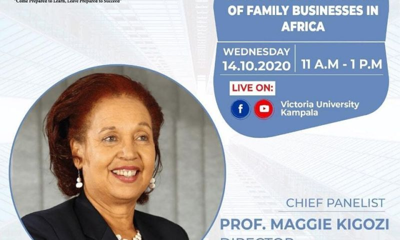 Victoria University To Host Business Mogul Maggie Kigozi To Tip Ugandans On Success & Failure Of Family Businesses