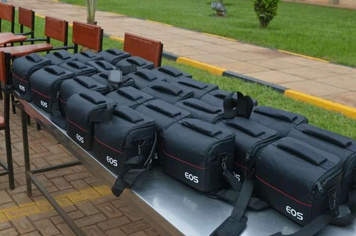 Germany Embassy Donates Video Cameras, Chairs Worth Millions To Uganda Police Force
