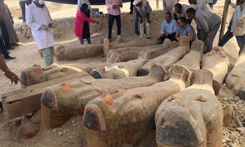 Horror: Egyptian Archaeologists Unearth 59 Coffins, King's Tomb Buried 3,000 Yrs Ago
